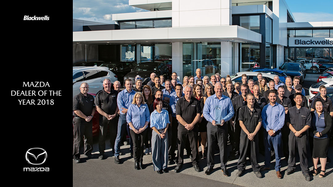 Blackwells Mazda Dealer of the Year 2018