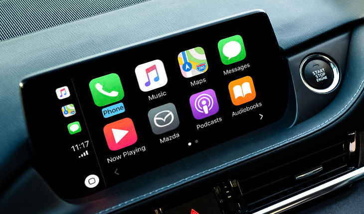 Apple Carplay Android Auto Blackwells Mazda Christchurch